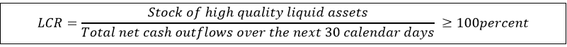Liquidity Coverage Ratio (LCR)