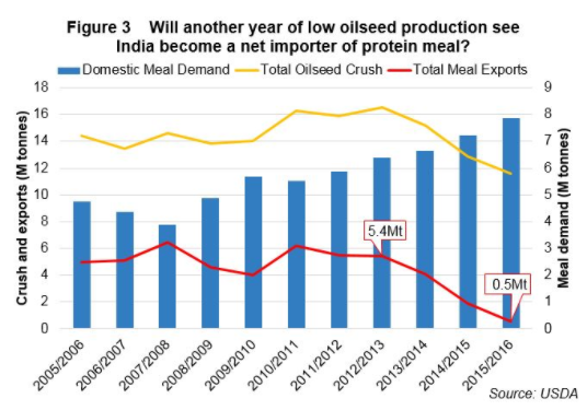 Oilseed Meal Exports
